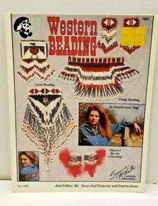 Western Beading Pattern Leaflet Suzanne McNeill #1087 Southwestern
