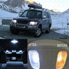 12 pcs White LED Interior Lights Kit For Mitsubishi Montero V60 Pajero 1999-2006