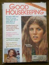 CAROLINE KENNEDY BARBARA WALTERS May 1975 GOOD HOUSEKEEPING Magazine