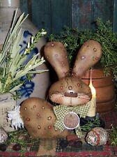 Patti's Ratties Primitive Spring Bunny Rabbit Easter Paper Pattern #423