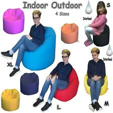 In/Outdoor Beanbags / Gaming Chair Kids & Adults - FILLED - MADE IN THE UK