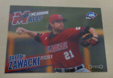 2013/14 BRETT ZAWACKI Australian Baseball League (ABL) - Fargo-Moorhead Redhawks