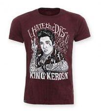 King Kerosin Batik Vintage T-Shirt Shirt I hate the Disco Herren