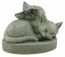 Memorial Cat Angel Stone Pet Remembrance Garden Marker 099278173479
