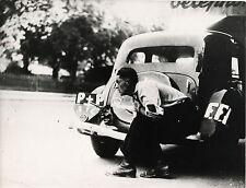 PHOTO VINTAGE : LIBERATION DE PARIS FFI 1945 WWII 2EME GUERRE MONDIALE L.A.P.I.