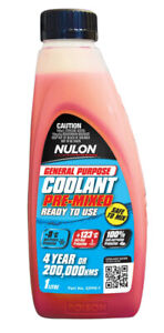 Nulon General Purpose Coolant Premix - Red GPPR-1 fits Renault Megane CC 2.0 ...