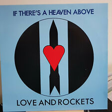 """Love And Rockets – If There's A Heaven Above - 12"""" single - BEG 146T ps"""