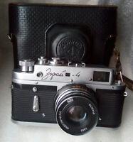 ZORKI-4 refurbishment  Soviet Russian  Leica Copy RF 35 mm Film  Camera 68657076