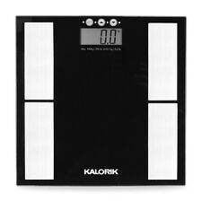 Kalorik Home Electronic Body Analysis Scale, Black