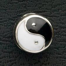 Ying Yang Stainless Steel Bead European Charm Bracelet Enamel Christmas Gifts