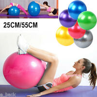 25CM/55CM Yoga Ball Balance Trainer Yoga Fitness Strength Exercise Workout free