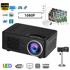 Multimedia Full HD 1080p TFT LCD Projector Home Theater Cinema For PC/Laptop/DVD