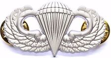 US Armed Forces Airborne Basic Parachutist Badge aka Jump Wings QUICK SHIPPING