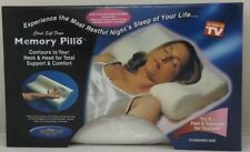 MEMORY FOAM PILLOW HEAD NECK BACK SUPPORT ORTHOPAEDIC CONTOUR FIRM PILLOW NEW