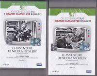 2 Dvd Sceneggiati Rai «LE AVVENTURE DI NICOLA NICKLEBY» con A. Foà completa 1958
