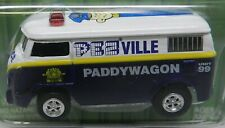 VOLKSWAGEN BUS VAN PADDYWAGON PEZVILLE 1960'S WAGON JOHNNY LIGHTNING PEZ CANDY