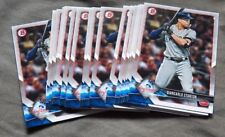 New York Yankees Giancarlo Stanton Lot of 18 2018 Bowman Cards