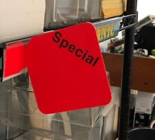 Special Price Signs-Day Glo- No Sign Holders Needed- 50 Lot