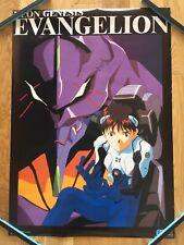 【Roll Type】EVANGELION : Shinj  Ikari Unit01 GAINAX / SEGA Original Poster