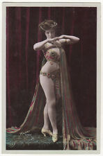 Edwardian Actress Mlle Hero Original Antique Photo Postcard