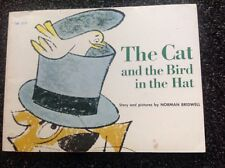 NORMAN BRIDWELL The Cat and the Bird in the Hat  Vintage 1964  children's Book