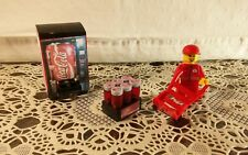 Lego Custom City COCA COLA SET. Vending Machine. Minifigure & MORE!!