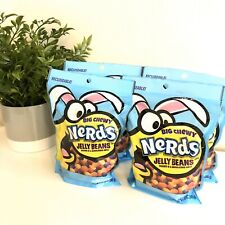 Nerds Big Chewy Jelly Beans Easter Candy Bumpy Shell 12 oz (4 Pack) Exp 11/2020