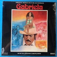 Soundtrack-Gabriela-1983 RCA-M-/M  FACTORY SEALED-Antonio Carlos Jobim-JAZZ