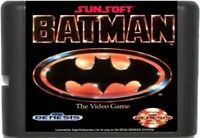 Batman (1990) 16 Bit Game Card For Sega Genesis / Mega Drive System