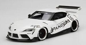 Top Speed Models 1/18 Pandem Toyota GR Supra V1.0 White MiB