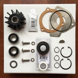 Sherwood Raw Water Pump Rebuild kit OEM 23979 12665 RA057007 PCM Pleasurecraft