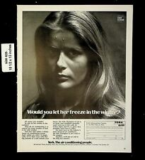 1970 Air Conditioning People Borg and Warner Vintage Print Ad 19737