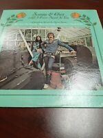 Record Album LP Sonny and Cher All I Ever Need is You VG