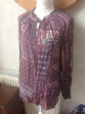 👚Next size 18(46) Multi Patterned Blouse - BNWT RRP £36 Christmas -Black Friday
