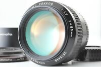 [Near Mint+++ w/ Hood] Minolta MC Rokkor 85mm f/1.7 Portrait MF Lens From JAPAN