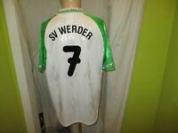 """Werder Bremen Original Puma Heim Trikot 1995/96 """"DBV"""" + Nr.7 Gr.XL TOP"""