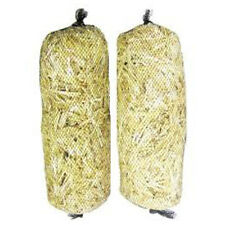 Barley Straw Logs Bales 2 pk Extra Large All Natural Treats up to 4,000 gal