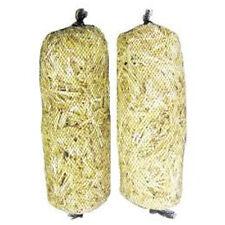 Barley Straw Logs Bales 2 pk Extra Large All Natural Treats up to 4,000 gal