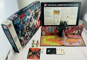 1986 The Real Ghostbusters Game by Milton Bradley Complete in Great Condition