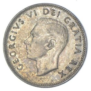 Better Date - 1951 Canada 25 Cents - SILVER *253