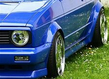 VW Golf Rabbit MK1 Cabrio Euro Headlight Hood Trim Grill Spoiler Eyelid Eyebrow-