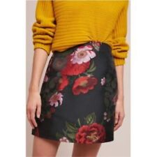 New Anthropologie Hutch Lauritzen Mini Skirt, Black, Medium, RRP £98