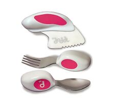 Doddl Cutlery Set (Knife, fork and spoon) for babies, toddlers and children.