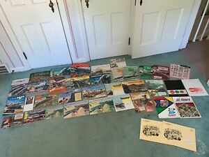 American Flyer Huge Lot Original Gilbert Catalogues 1940s/50s/60s, S&HO, books+
