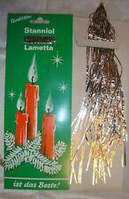 German SILVER Christmas Tree Lead Tinsel Lametta Ornament Vintage Antique Old!!!