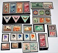 Indonesia & Maluku Selatan Stamp Lot of 30 - MNH OG - Collection