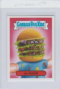 Garbage Pail Kids Big Mack 4a GPK 2016 American As Apple Pie In Your Face Topps