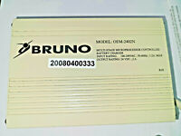 "Bruno OEM Charger OEM-2402 BCR-24024 formally BCR-24018 ""Next Generation Style"""