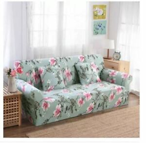 Printed Sofa Cover Slipcovers for 2 Seater - MINT
