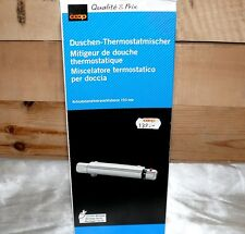 """COOP CH Norm 1/2"""" AG AD 153mm Bad Duscharmatur Brause Dusch Thermostat Chrom"""